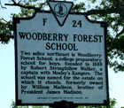 Woodberry Forest School Marker